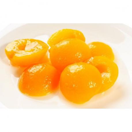Abricots au sirop (4/4) de 800 gr