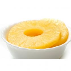 Ananas en tranches au sirop 490 gr