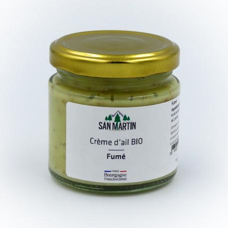 Crème d'ail BIO Fumé