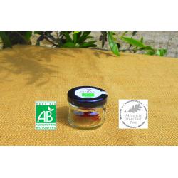 Pot de 0,2g de Safran de Provence bio