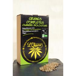 Graines de chanvre complètes - boîtes 250gr