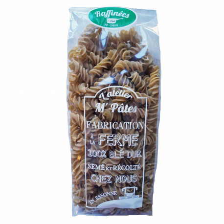 pâtes sèches fermières RAFFINEES Ail-Persil
