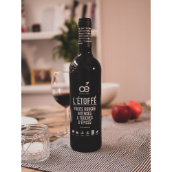 Vin rouge Oé - L'Etoffé - Bio et engagé !