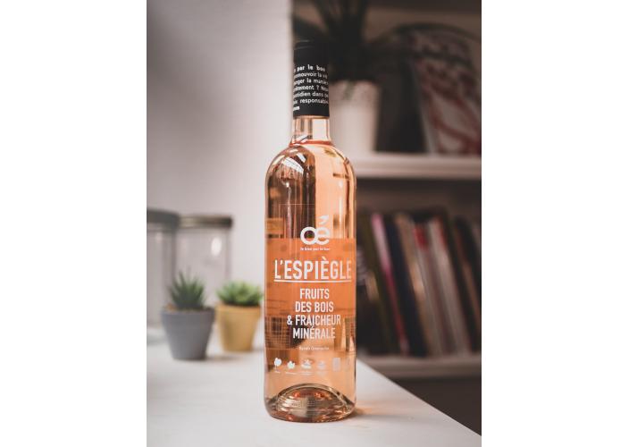 Vin rosé Oé - L'Espiègle - Bio et engagé !