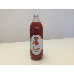 Nectar artisanal de fraise ,variété CHARLOTTE 1 litre