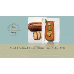 Quatre-Quarts sans gluten au Rhum