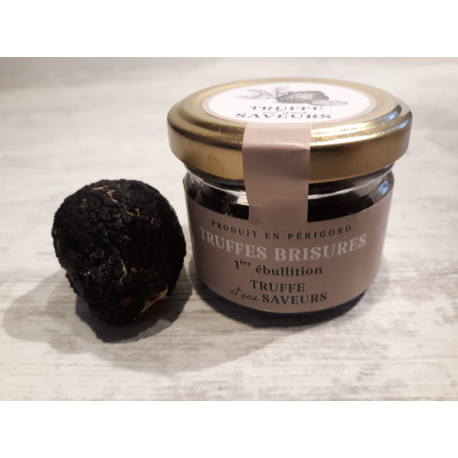Brisure de truffe en verrine (tubermelanosporum) 18 g