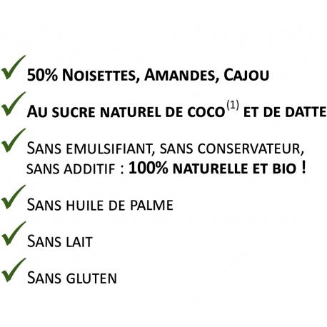 VEGANUTS - Pâte à tartiner noisette & chocolat - 200g
