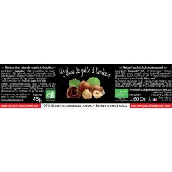 Délice de pâte à tartiner noisette & chocolat - 45g