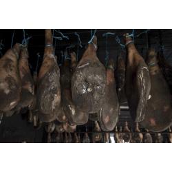 Jambon sec Corse de porc Nustrale à l'os affiné 36 mois