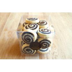 Spirales vanille et chocolat 150 g