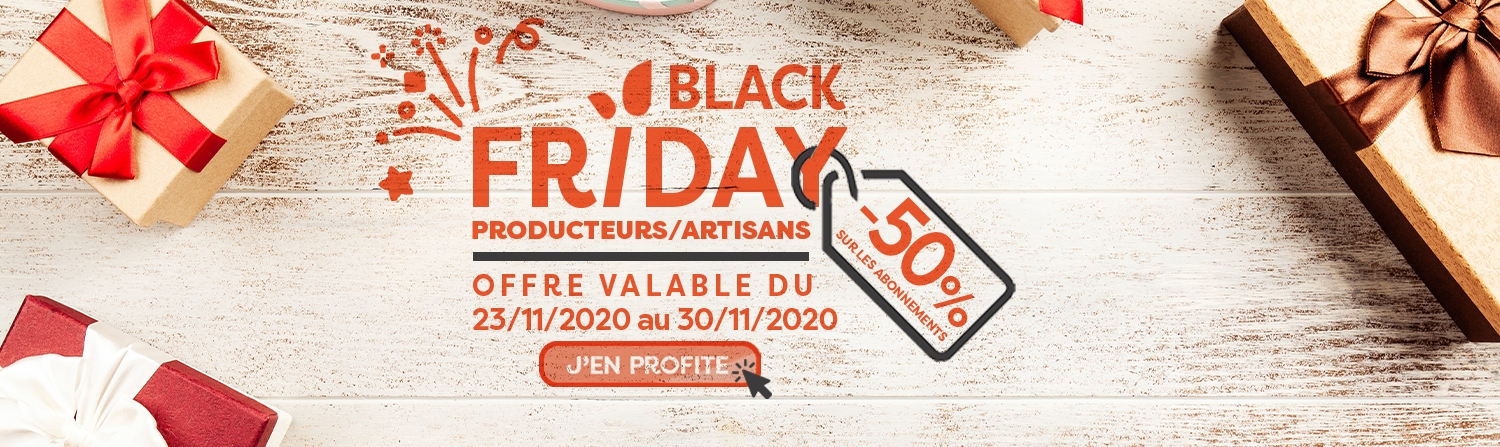 OFFRE BLACK FRIDAY -50%